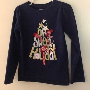 Gymboree Christmas long sleeve shirt. 5T